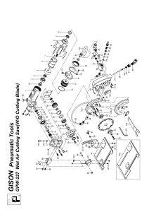 نقشه انفجاری سنگ آب و بادی GPW-227