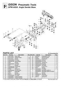 نقشه انفجاری پایه سنگ GPW-A02